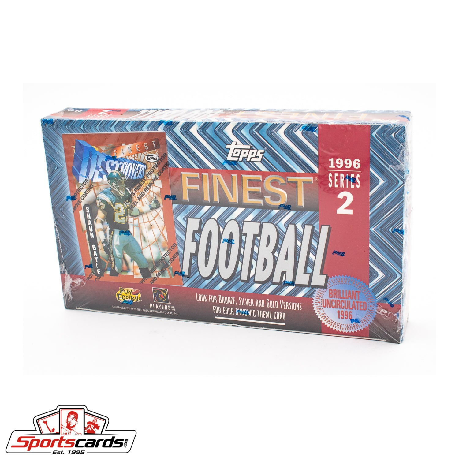 1996 Topps Finest Football Series 2 Factory Sealed Box