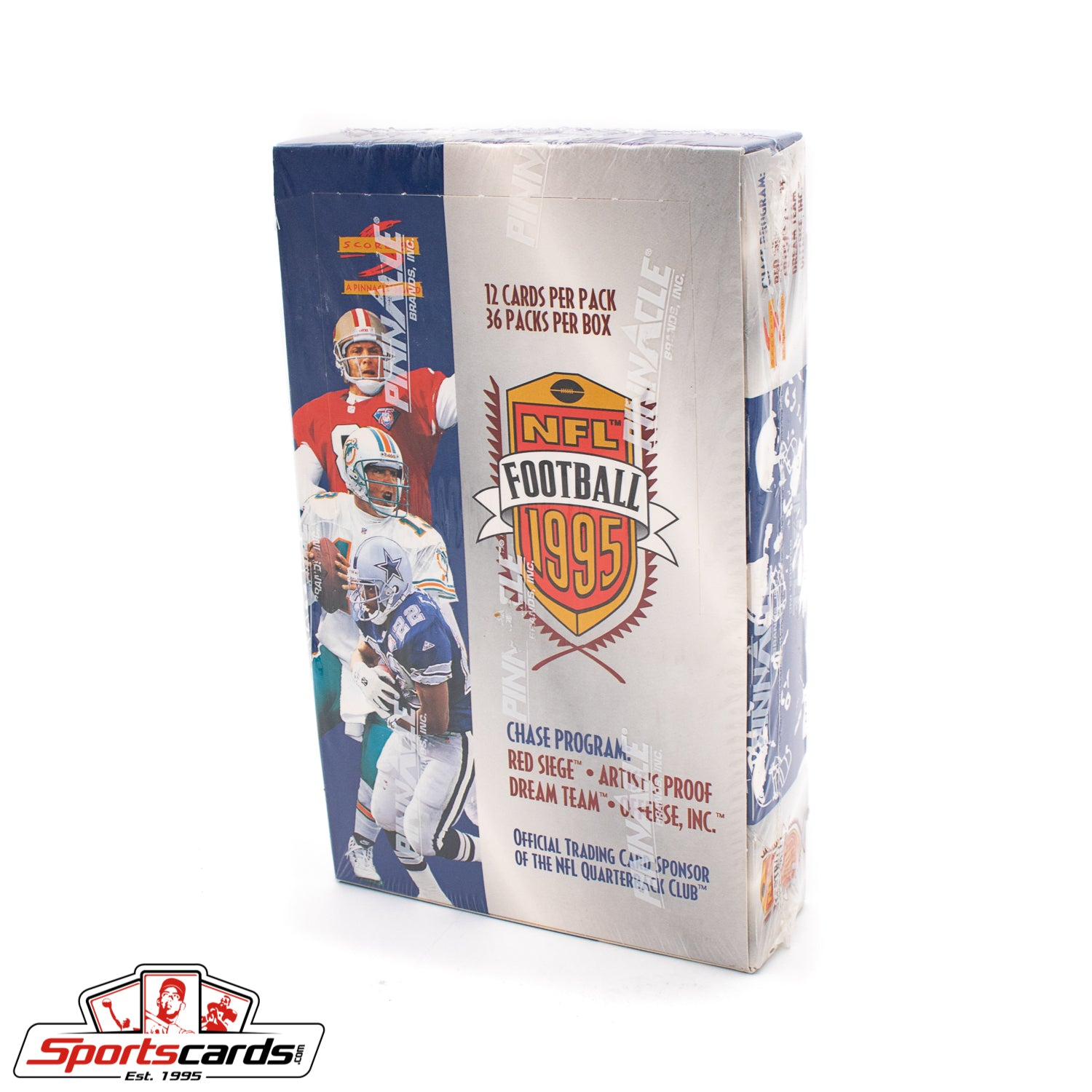 1995 Score Football Factory Sealed Box