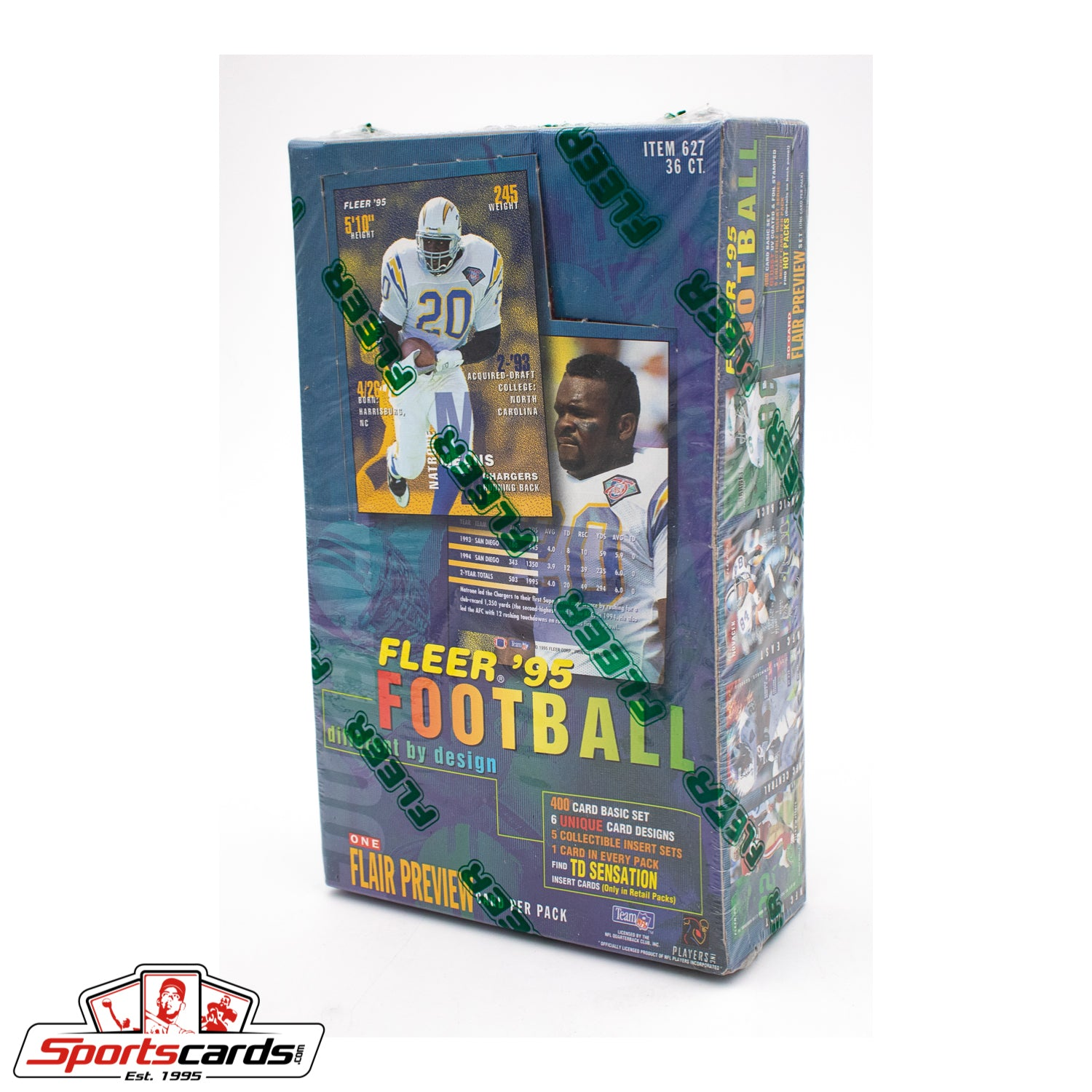 1995 Fleer Football Factory Sealed Box