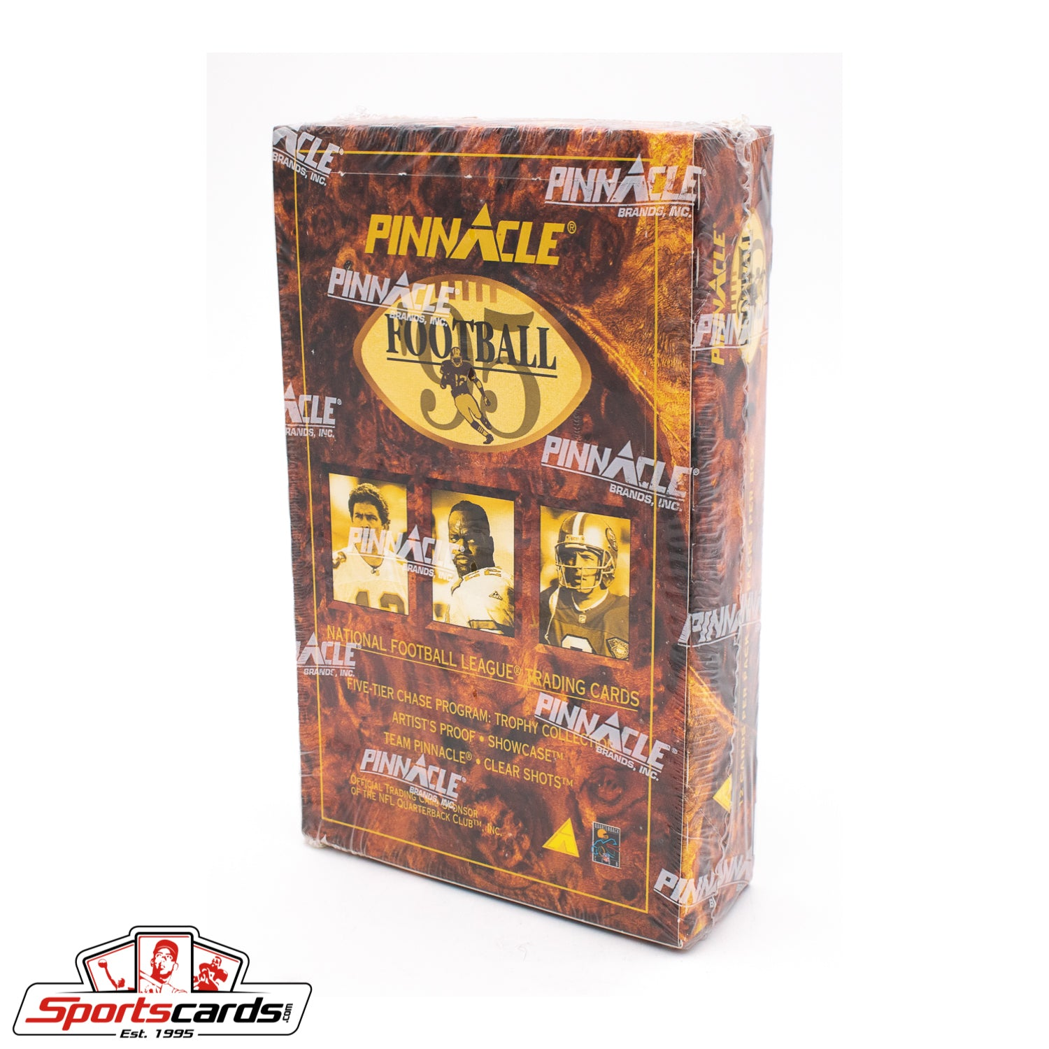1995 Pinnacle Football Factory Sealed Box