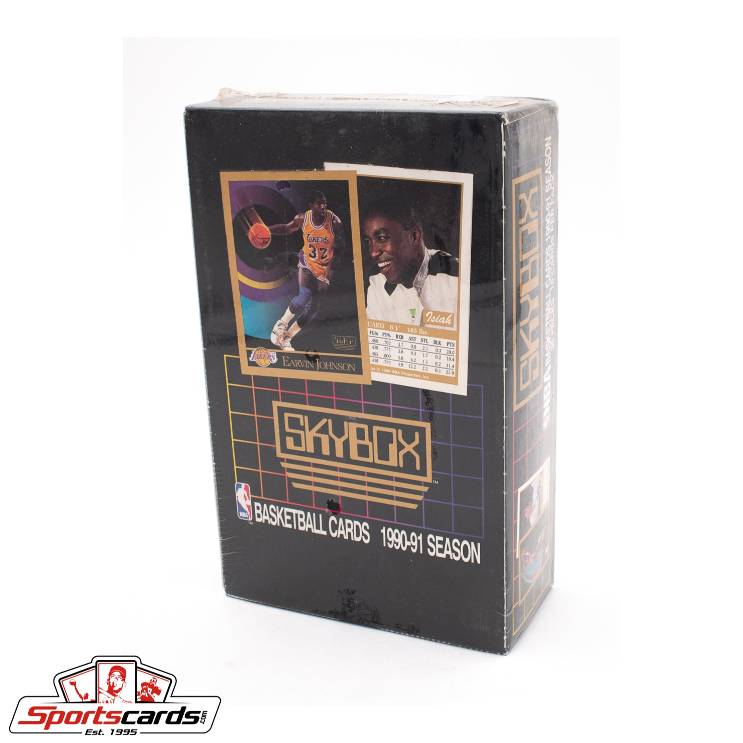 1990-91 SkyBox Basketball Series 1 Factory Sealed Box