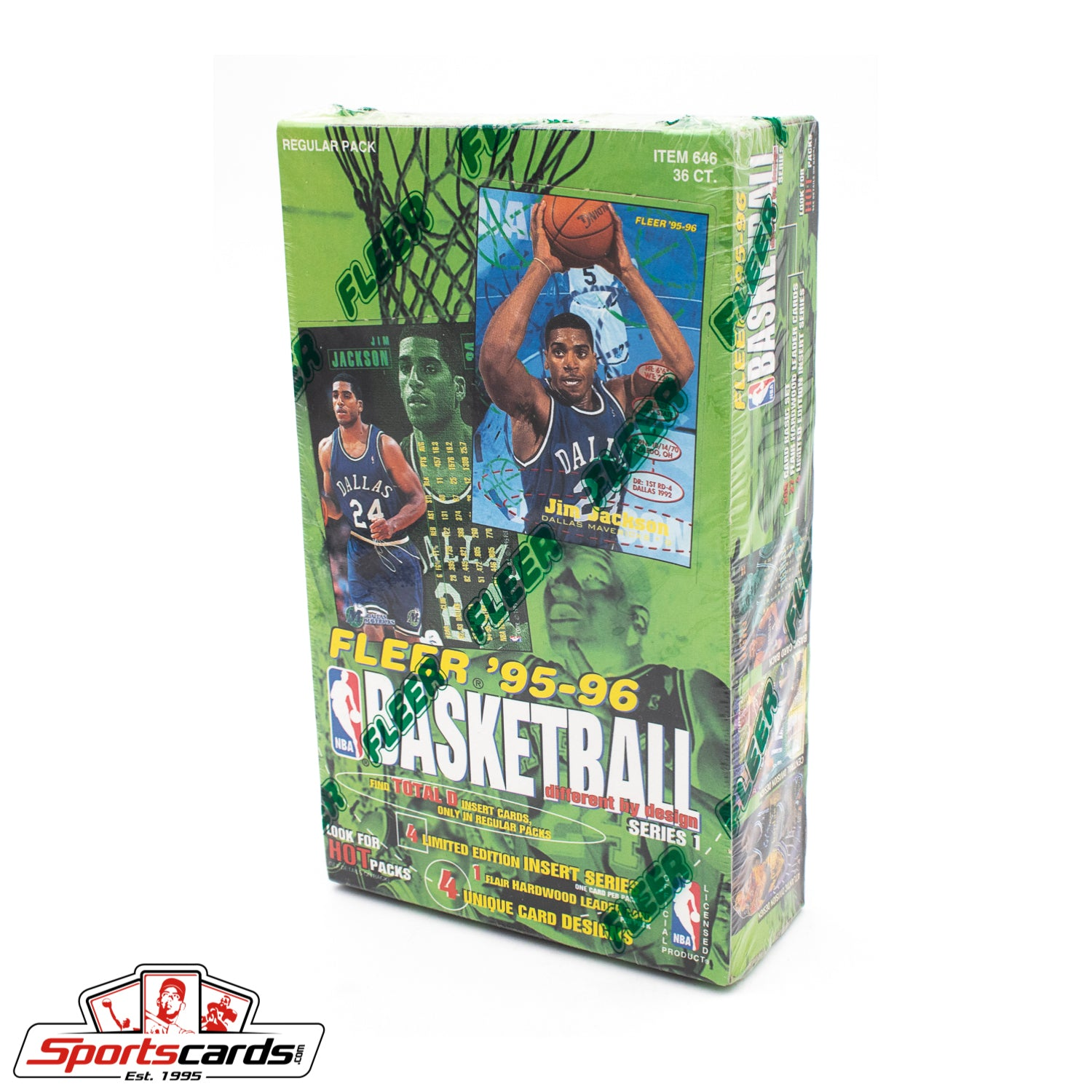 1995-96 Fleer Basketball Series 1 Factory Sealed Box