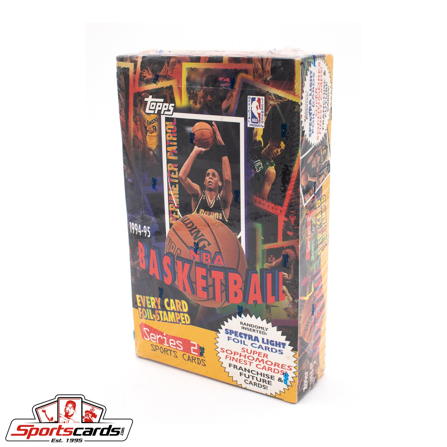 1994-95 Topps Basketball Series 2 Factory Sealed Box
