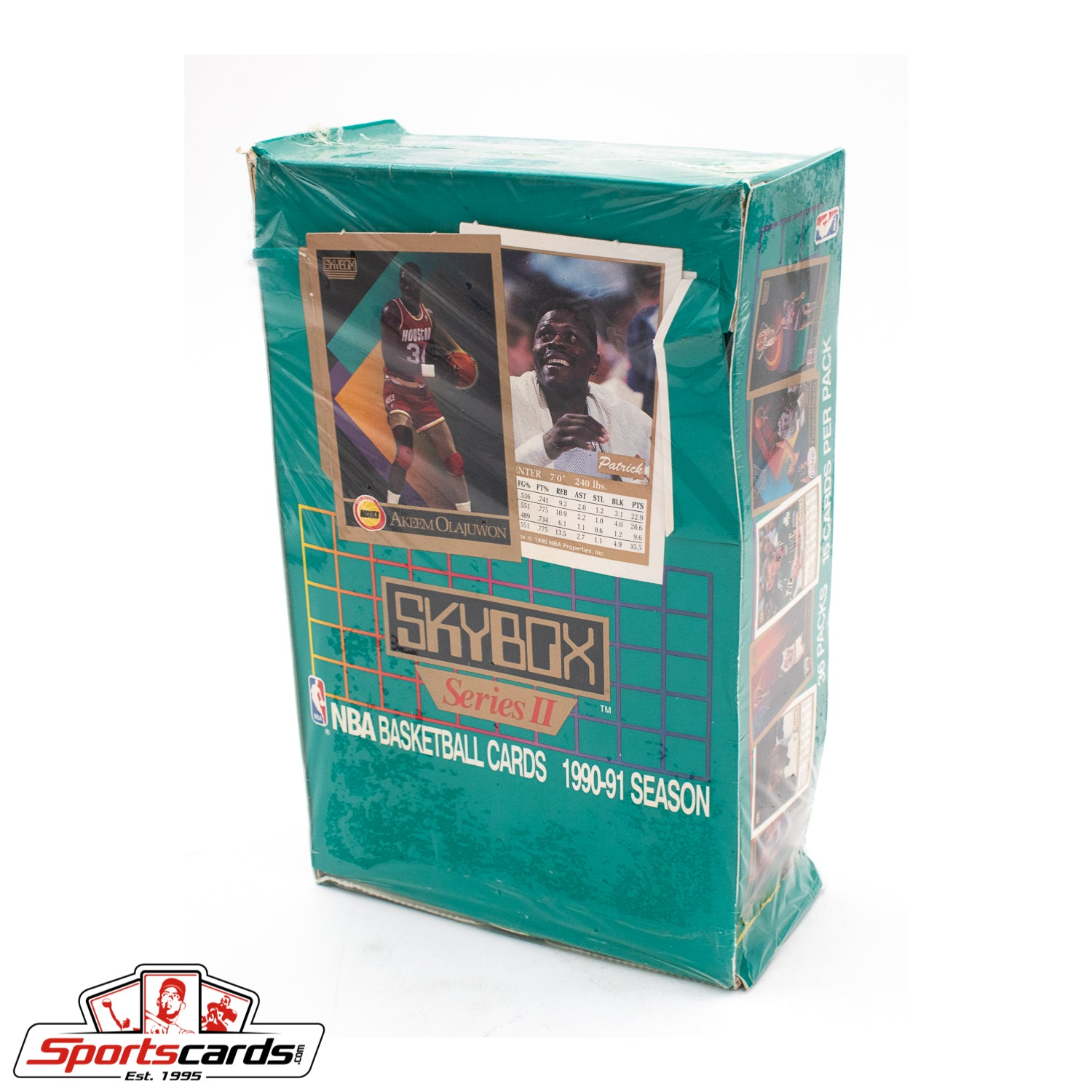 1990-91 SkyBox Basketball Series 2 Factory Sealed Box
