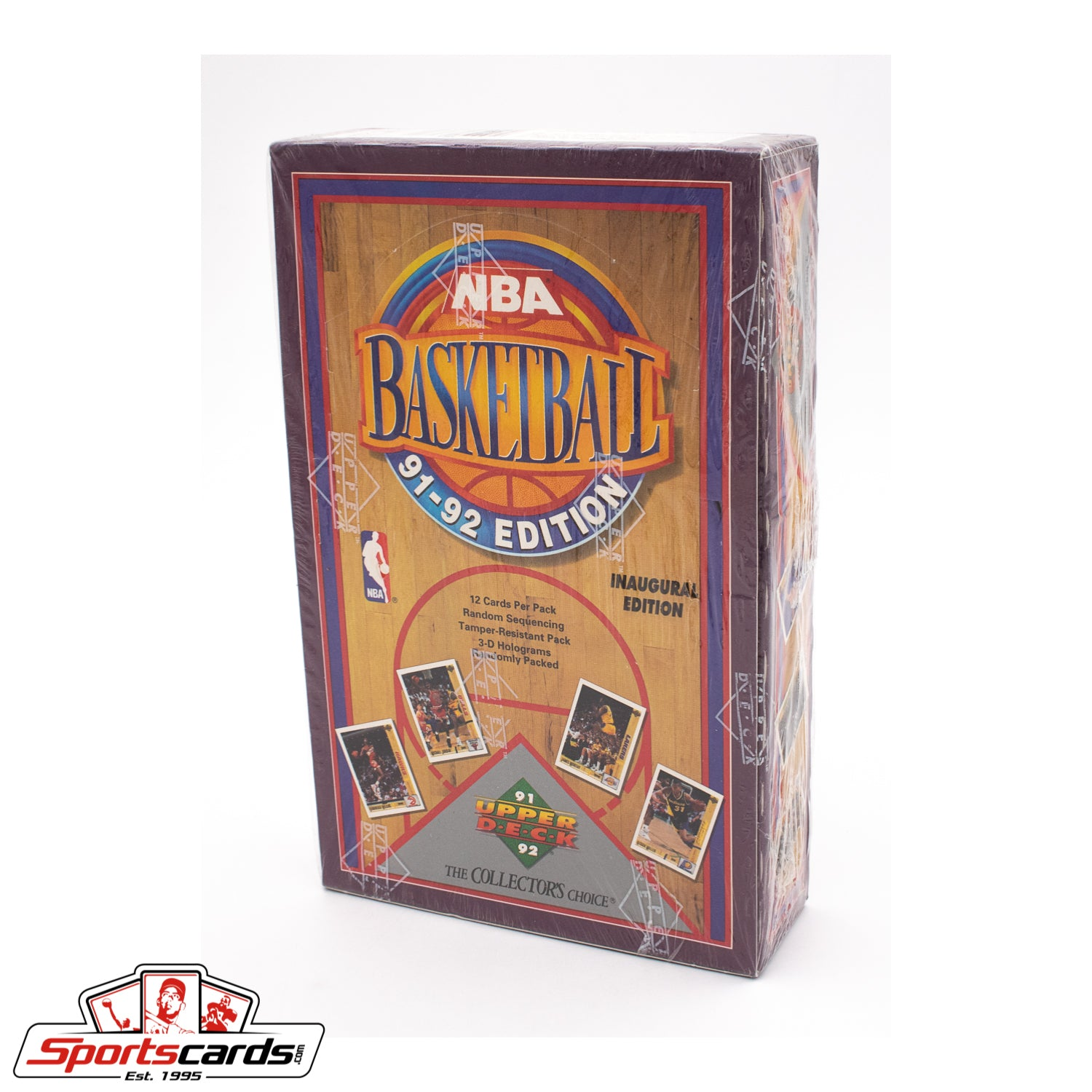 1991-92 Upper Deck Basketball Factory Sealed Box
