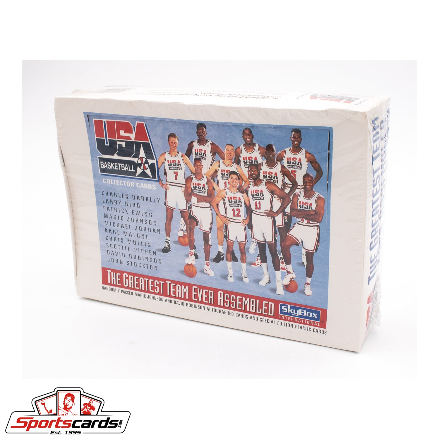 1992 SkyBox USA Dream Team Basketball Factory Sealed Box w/ Michael Jordan