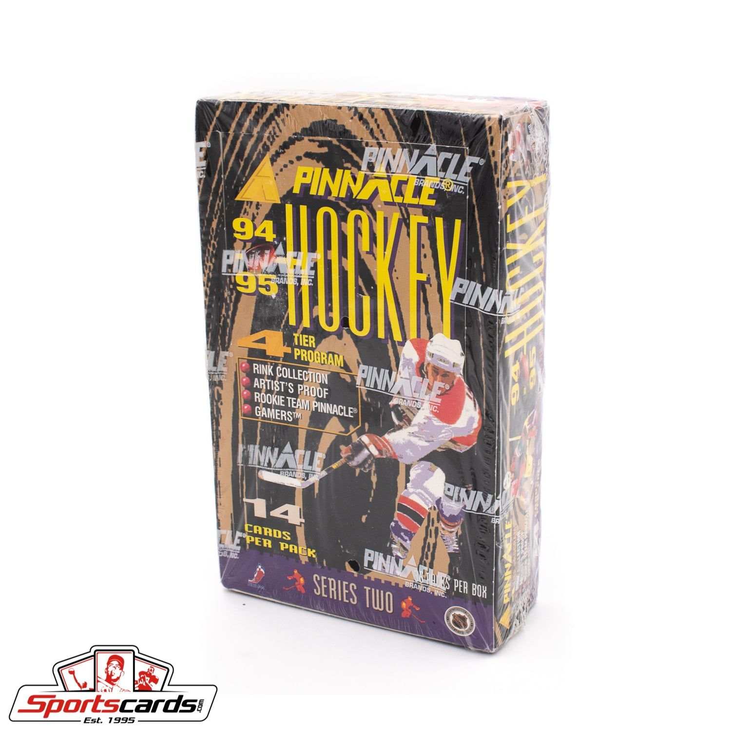 1994-95 Pinnacle Hockey Series 2 Factory Sealed Box