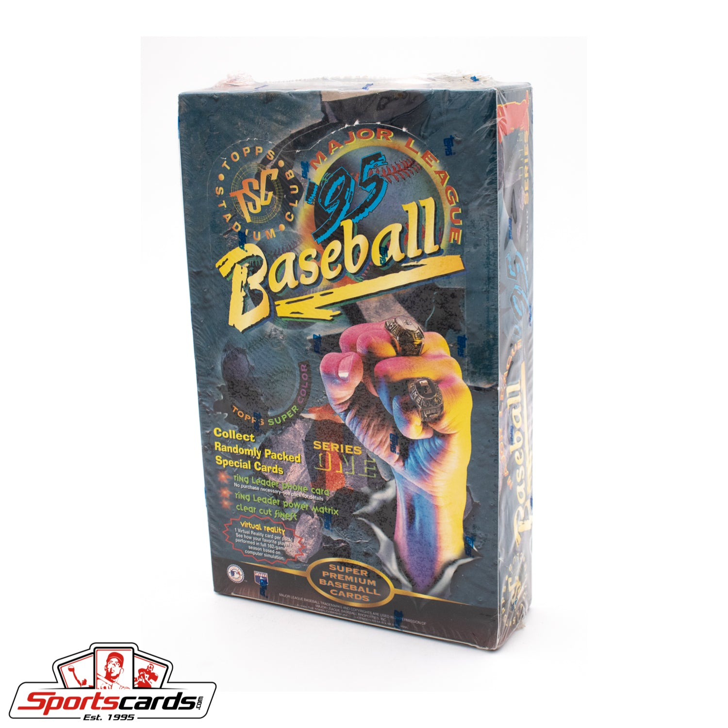 1995 Topps Stadium Club Baseball Series Factory Sealed Box
