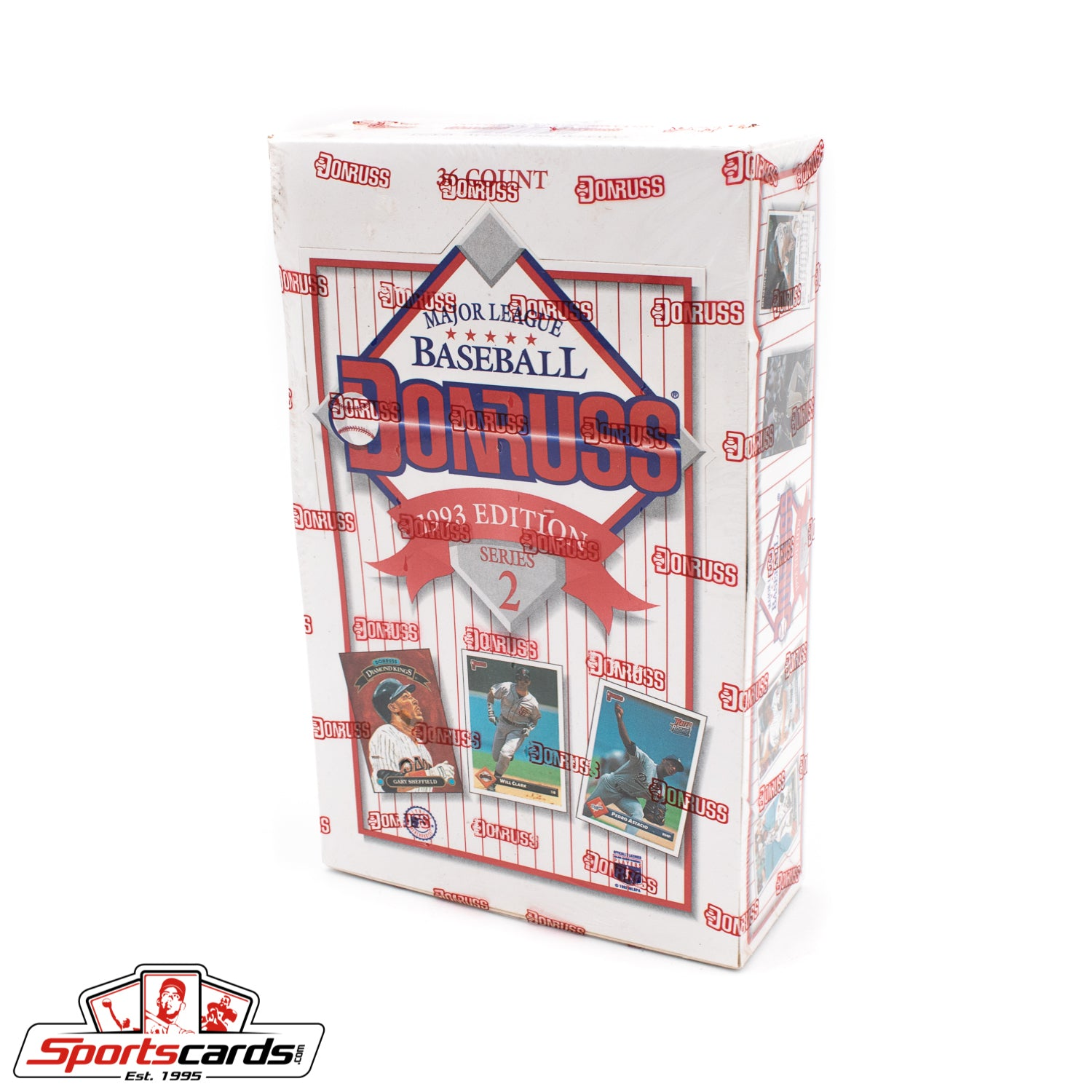 1993 Donruss Baseball Series 2 Factory Sealed Box