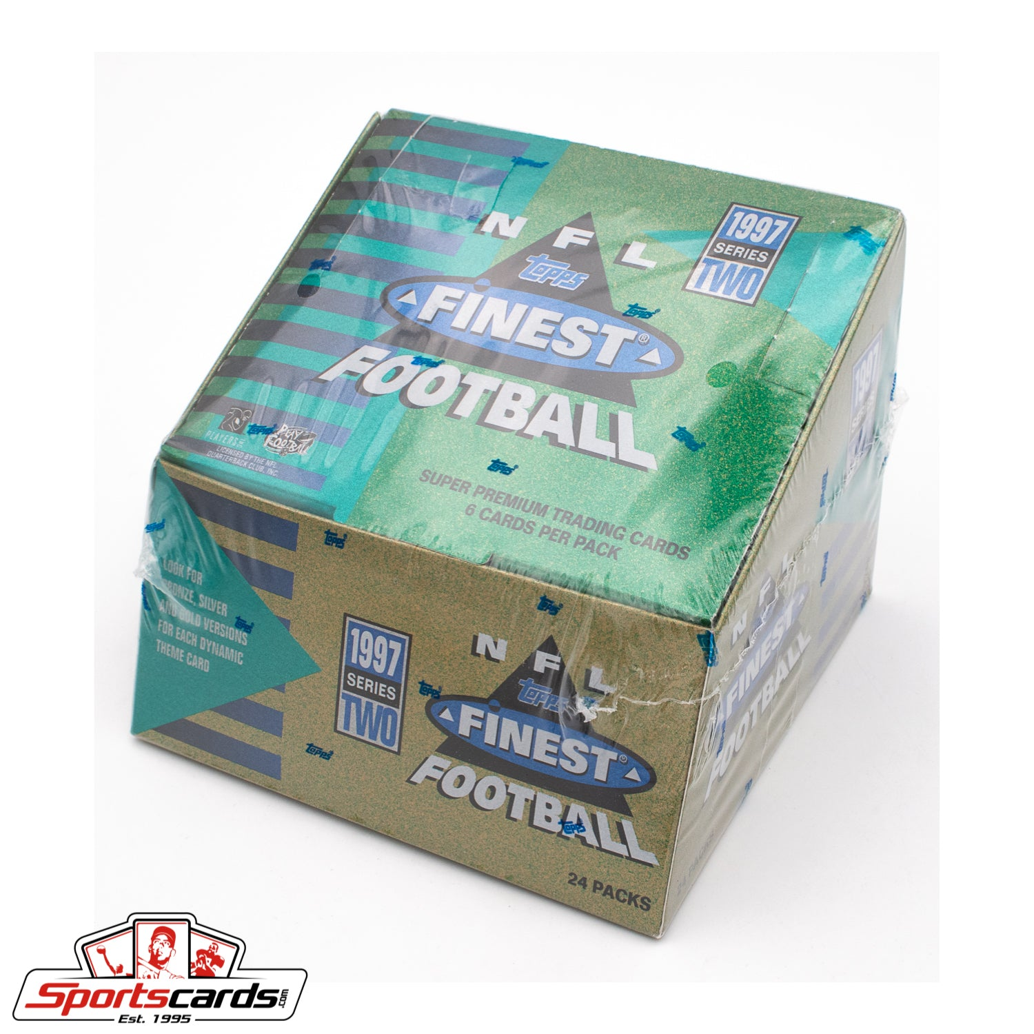 1997 Topps Finest Football Series 2 Factory Sealed Box