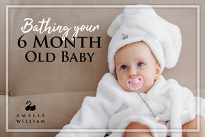 Bathing your 6-month-old baby