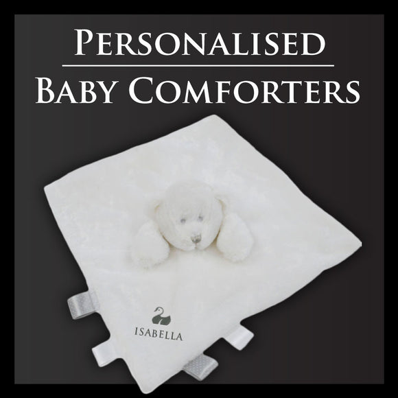 Personalised Baby Comforters | Free Gift Box | From £16