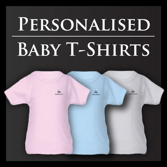 Personalised Baby T Shirts | From £10