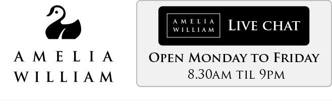 Amelia William Delivery Options for baby clothing including bibs, body suits, sleep suits, pyjamas, hats, socks, mittens and more.