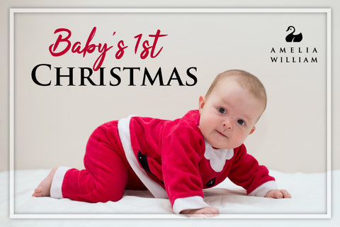 Baby's 1st Christmas: Personalised Baby Clothes Blog by Amelia William