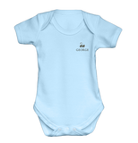 Personalised Baby Grow & Vest Gift Set | Classic Blue