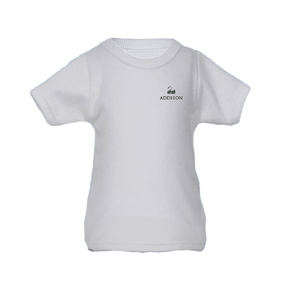 Personalised Baby T-Shirt - Short Sleeve Classic White