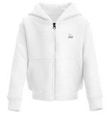 Toddler Zip-Up Hoodie - Classic White