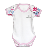Personalised Baby Grow & Vest Gift Set | Floral