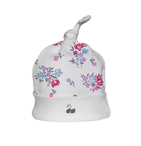 Baby Knotted Hat Floral