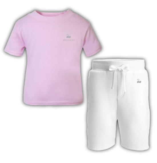 The Summer Day Collection - Classic White/Pink