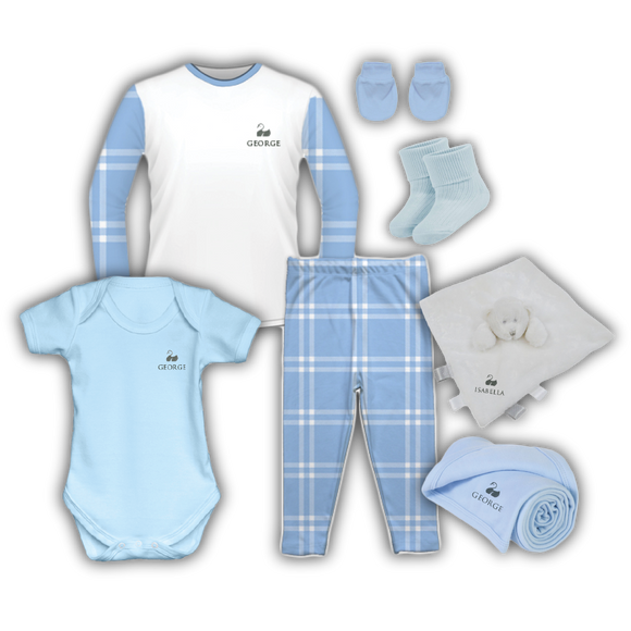The Sleep Tight Collection - Classic Light Blue