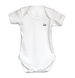 Personalised Baby Vest | Bodysuit | Short Sleeve White