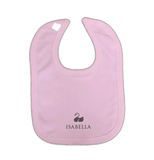 Personalised Baby Vest & Bibs Gift Set | Classic Pink