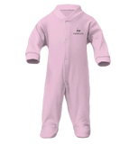 Personalised Baby Grow & Blanket Gift Set | Classic Pink