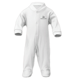 Personalised Baby Grow & Comforter Gift Set | Classic White