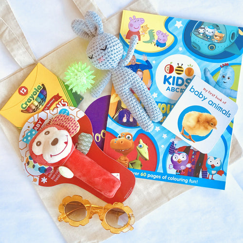 Bookywoo Baby Travel Pack Busy Book Quiet Book Felt Book educational toys Occupational therapy products toddler fun activities