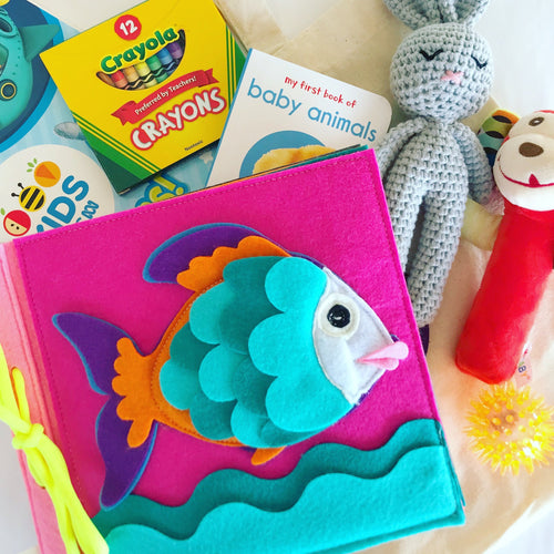 Bookywoo Bookywoo Baby Travel Bundle Busy Book Quiet Book Felt Book educational toys Occupational therapy products toddler fun activities
