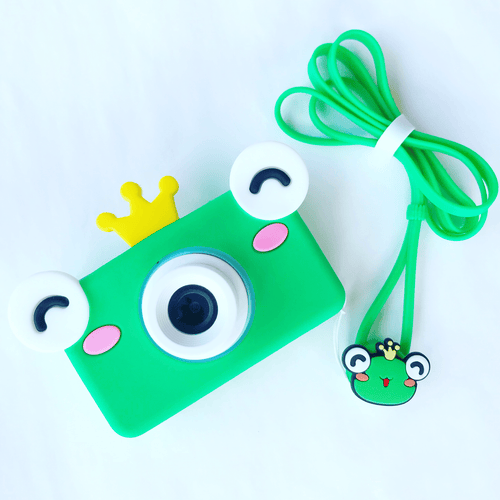Bookywoo Amazing Kids Digital Camera! - Froggy Prince Busy Book Quiet Book Felt Book educational toys Occupational therapy products toddler fun activities