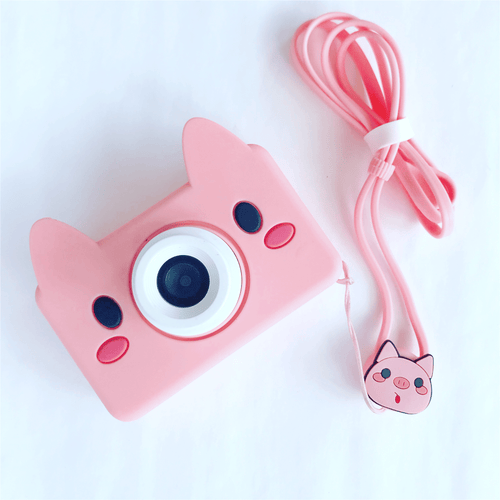 Bookywoo Amazing Kids Digital Camera! - Piggy Wiggles Busy Book Quiet Book Felt Book educational toys Occupational therapy products toddler fun activities