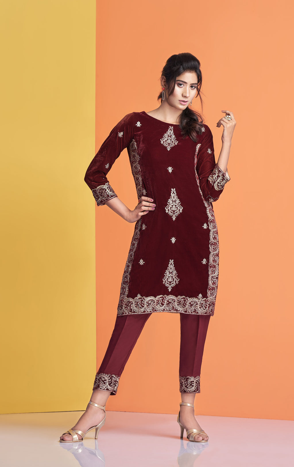 velvet shirt for women, pakistani formal dresses for women