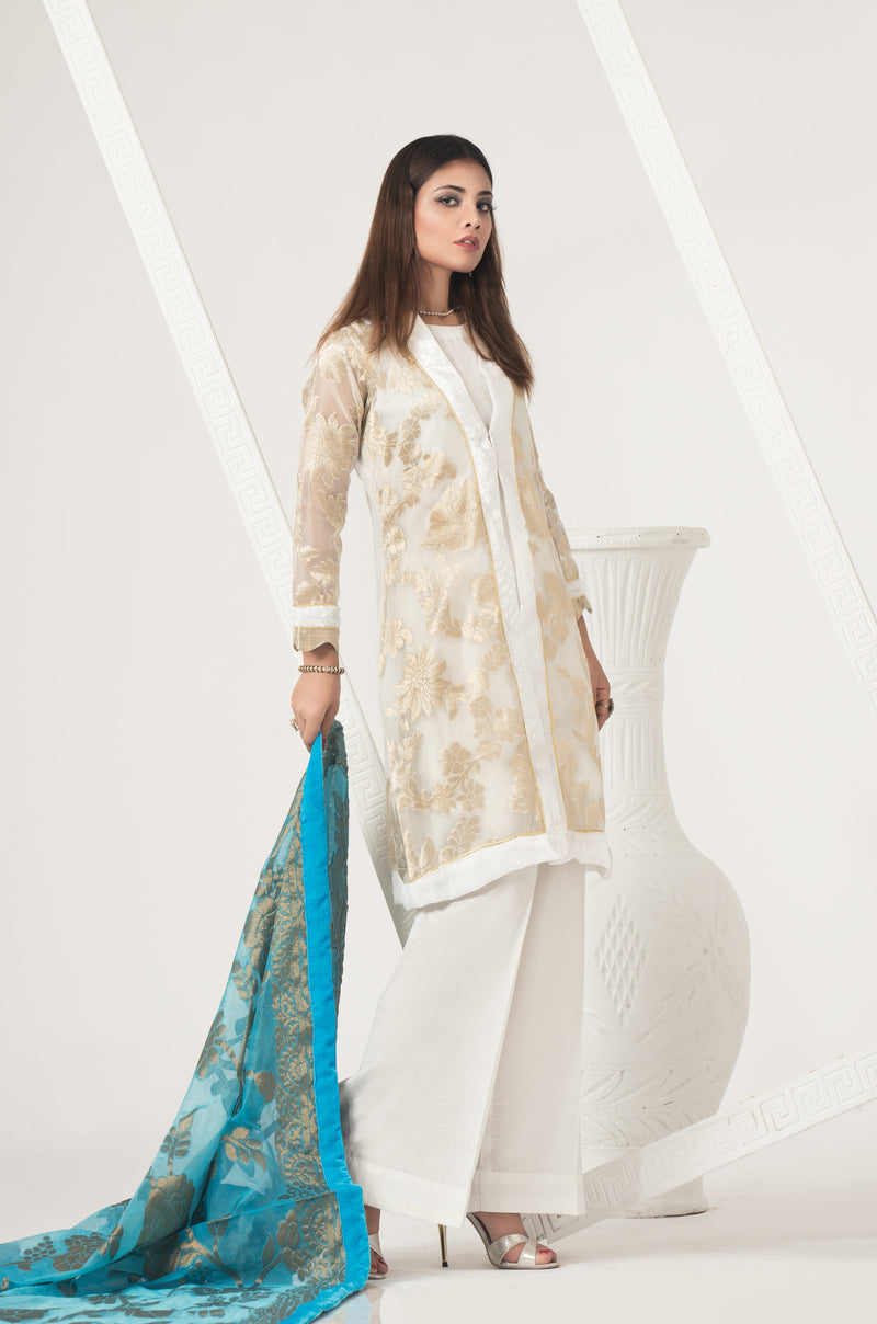 pakistani clothes online, Embroidered Women Shirt