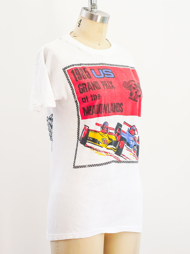 1985 US Grand Prix Graphic Tee