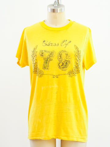 Class of 1979 Yellow Graphic Tee