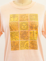 Astrological Sign Graphic Short Sleeve Tee