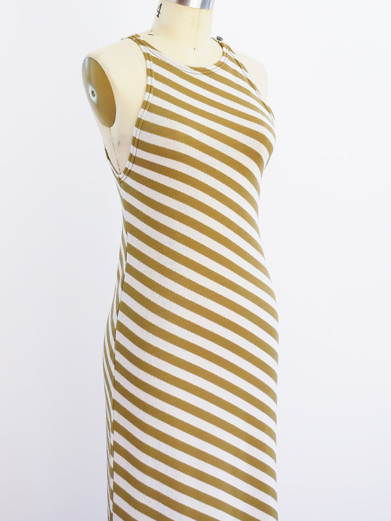Rudi Gernreich Striped Knit Dress
