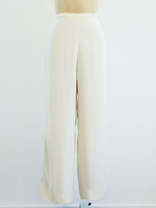 Gianfranco Ferre Sequin Embellished Pants