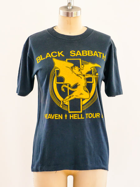 Black Sabbath Heaven and Hell 1980 Tour Tee