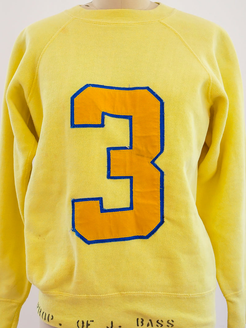 Handmade Numbered Athletic Sweatshirt