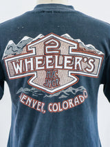Faded Harley Davidson Wing Graphic Tee