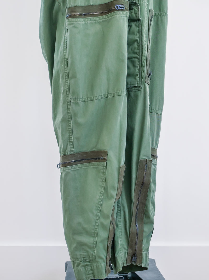 Army Green Zippered Flight Suit