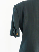 Chanel Linen Short Sleeve Blazer