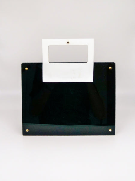 1960's Lucite Top Handle Bag