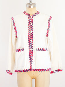 Yves Saint Laurent Jacket with Braided Trim