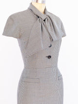 Christian Dior Houndstooth Dress