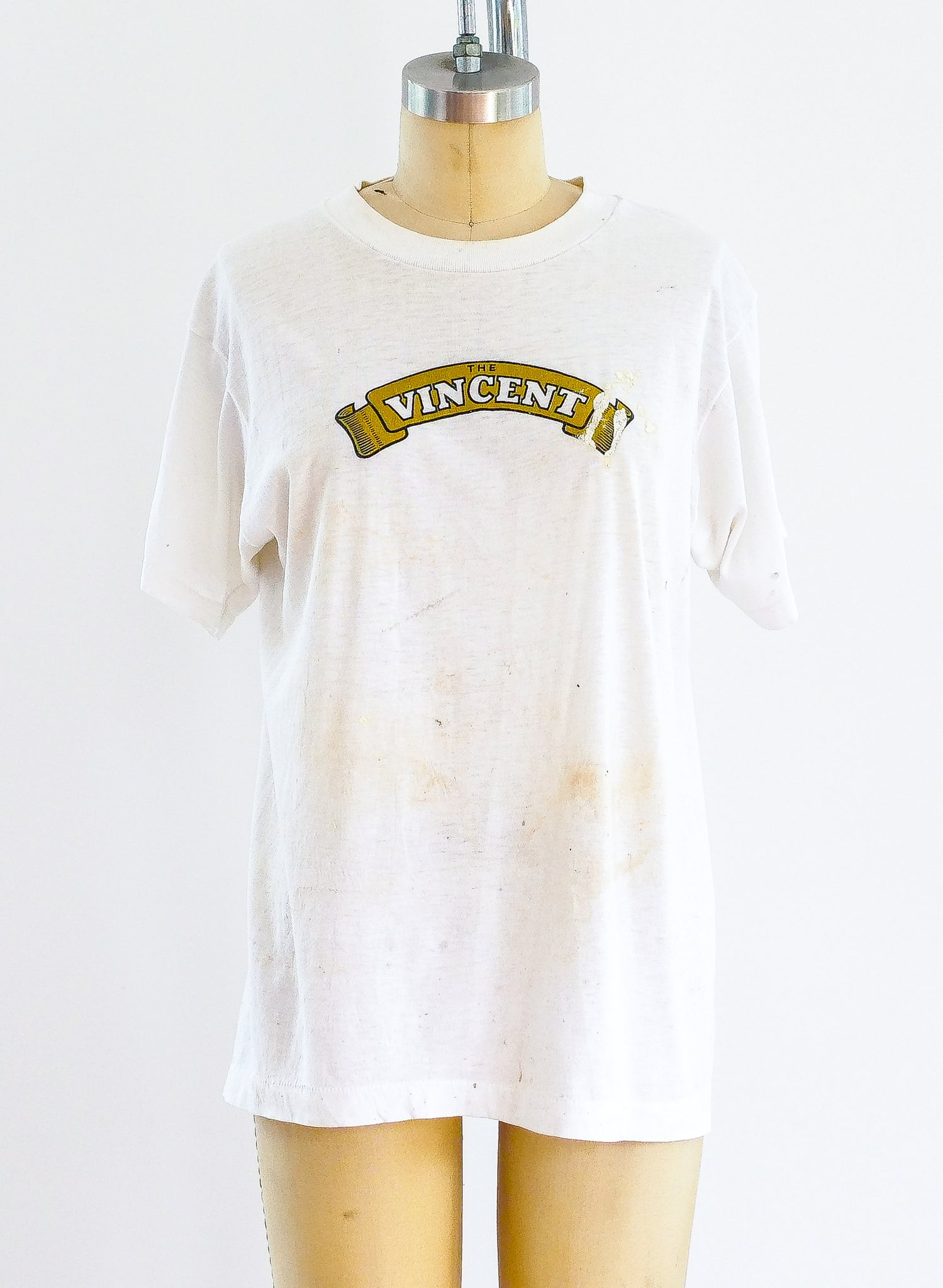 The Vincent Motorcycle Logo Tee